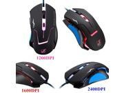 New Professional 6D Button 3200DPI 3200 DPI LED Optical Wired Game Gaming Mouse Mice Pro Excellent Gamer For Windows XP, Vista, Windows 7, ME, 2000 and Mac OS