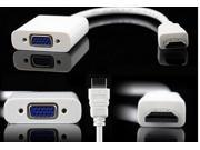 HDMI Male to VGA RGB Female HDMI to VGA Video Converter adapter 1080P for PC