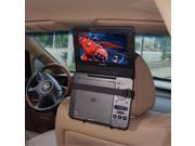TFY Car Headrest Mount Holder for Portable DVD Player