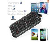 SQdeal® Classic Black Ultra Slim Mini Bluetooth 3.0 Wireless Keyboard for iPhone 4/4S/5/5G/5S