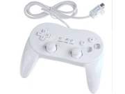 SQdeal® Classic Pro Controller for Nintendo Wii Remote -White