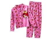 Angry Birds Little Girls' Heart 2 piece Pajama Set size 4