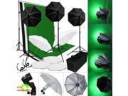 Lusana Studio Lighting Photo Light Softbox Backdrop Stand Muslin Kit LNG2819