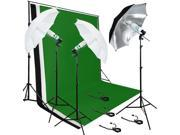 Lusana Studio Photo Lighting Photography Backdrop Stand 3 Muslin Light LNG2827