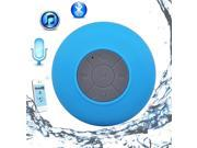 Xseries New Waterproof Wireless Bluetooth Shower Speaker Handsfree Speakerphone with Built-in Mic, 5hrs of playtime, Control Buttons and Dedicated Suction Cup for Showers, Bathroom, Pool, Boat,Car