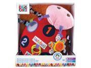 Eric Carle Ladybug Activity Plush 13 Inch Infant Toy by Kids Preferred (55623)