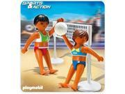 Beach Volleyball with Net - Imaginative Play Toy Set by Playmobil (5188)