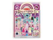 Day of Glamour Sticker Album - Novelty by Melissa & Doug (9412)