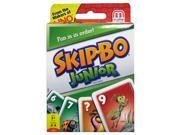 Skip-Bo Jr. Card Game - Card Games by Mattel (T1882)
