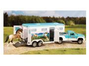 Breyer Horses Stablemates Size Pickup Truck and Gooseneck Trailer #5256