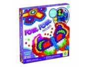 Butterfly Pom Pom Pictures - Craft Kit by Orb Factory (70397)