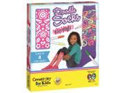 Doodle Socks Knee High - Craft Kit by Creativity For Kids (1836)