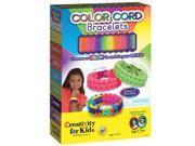 Color Cord Bracelets - Craft Kits by Creativity For Kids (1197)