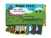 Whose Feet? Soft Book (K's Kids) - Developmental Toy by Melissa & Doug (9203)