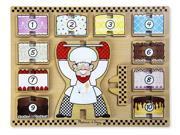 Cake Baker Stacking Chunky Puzzle 13 pcs. Wooden Puzzle Melissa & Doug (9026)