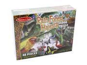 Rainforest Majesty 48 pcs. - Floor Puzzle by Melissa & Doug (8902)