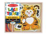 Lace & Trace Wild Animals - Lacing Toy by Melissa & Doug (9276)