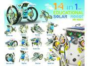14 In 1 Solar Robot Kit - Science Kit by Elenco Electronics (OWIMSK-615)