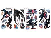 Captain America Peel and Stick Wall Decals