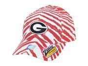 NCAA Georgia Bulldogs Dawgs Top of the World Smash Zubaz Zebra Snapback Hat Cap