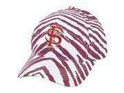 NCAA Florida State Seminoles Noles Top of the World Smash Zubaz Snapback Hat Cap