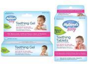 Hyland's 250 Count Homeopathic Teething Tablets & Teething Gel