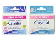 Boiron Camilia Teething Relief with Cocyntal Colic Relief Set