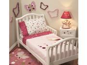 Lambs & Ivy Raspberry Swirl 5 Piece Toddler Set