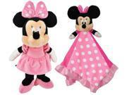 Kids Preferred Disney Minnie Mouse Plush & Snuggly Blanky