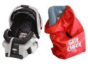 Graco SnugRide Classic Connect 30 Infant Car Seat with Gate Check Car Seat Bag, Metropolis