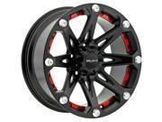 Ballistic 814 Jester 18x9 6x135 -12mm Flat Black Wheel Rim