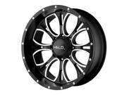 Helo HE879 HE87979012318 17x9 5x114.3 +18mm Gloss Black/Machined Wheel Rim