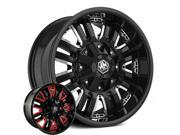 Mayhem 8070 Assault 20x9 8x165.1/8x170 +18mm Gloss Black Wheel Rim