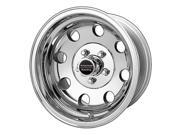 "American Racing Baja AR1725761 15x7 5x4.75"" -6mm Polished Wheel Rim"