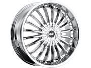 Avenue A602 18x7.5 5x112/5x114.3 +40mm Chrome Wheel Rim