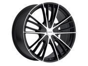 Forte F67 Night Moves 20X8.5 5x114.3/5x127 +35mm Black/Machined Wheel Rim