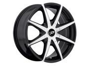 Pacer 784MB Rebel 16x7.5 5x112/5x114.3 +38mm Black/Machined Wheel Rim