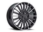 Vision 466 Conduit 18x8 5x114.3 +38mm Black/Machined Wheel Rim