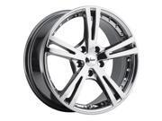 """Vision 463 Xcite 16"""" (16x7.5) 5x115 +34mm PVD Chrome Wheel Rim"""