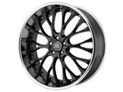 Lorenzo WL27 20x10 5x115 +40mm Gloss Black Wheel Rim