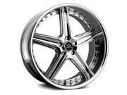 Lorenzo WL19 18x9.5 5x112 +35mm Chrome Wheel Rim