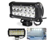 "7"" 36W Bright LED Bar Flood Spot Work Light 4x4 Off Road Lamp"