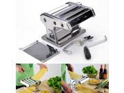 "7"" Home Pasta Maker Machine Noodle Roller Dough Spaghetti Fettuccine Ravioli Shipped from US Warehouse"