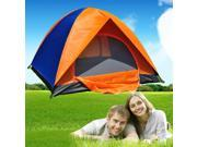 2-3 Person Fold Waterproof Camp 1 Room Hiking Camping Family Tent Ultralight Shipped From US Warehouse