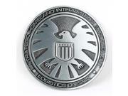 S.H.I.E.L.D. Metal Marvel's Avengers Agent 3D Belt Buckle