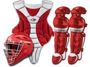 Easton Black Magic Red Youth Catcher's Set Fits Ages 9-12 New In Wrapper!
