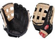 "Rawlings PRO303JBC 12.75"" Heart of The Hide Black / Camel Custom Baseball Glove"
