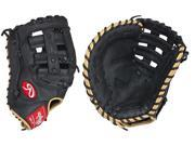 "LHT Lefty Rawlings GFMPTBC 12"" Gold Glove Gamer XLE Pro Taper First Base Mitt"