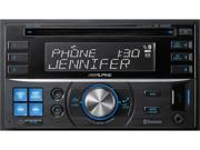 Alpine CDE-W235BT In-Dash Double DIN CD/MP3/USB Car Stereo Receiver w/ Bluetooth, iPod Control and Front Aux
