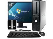 Dell OptiPlex 755 Desktop Complete Computer Package-4GB Memory Windows 7 Professional